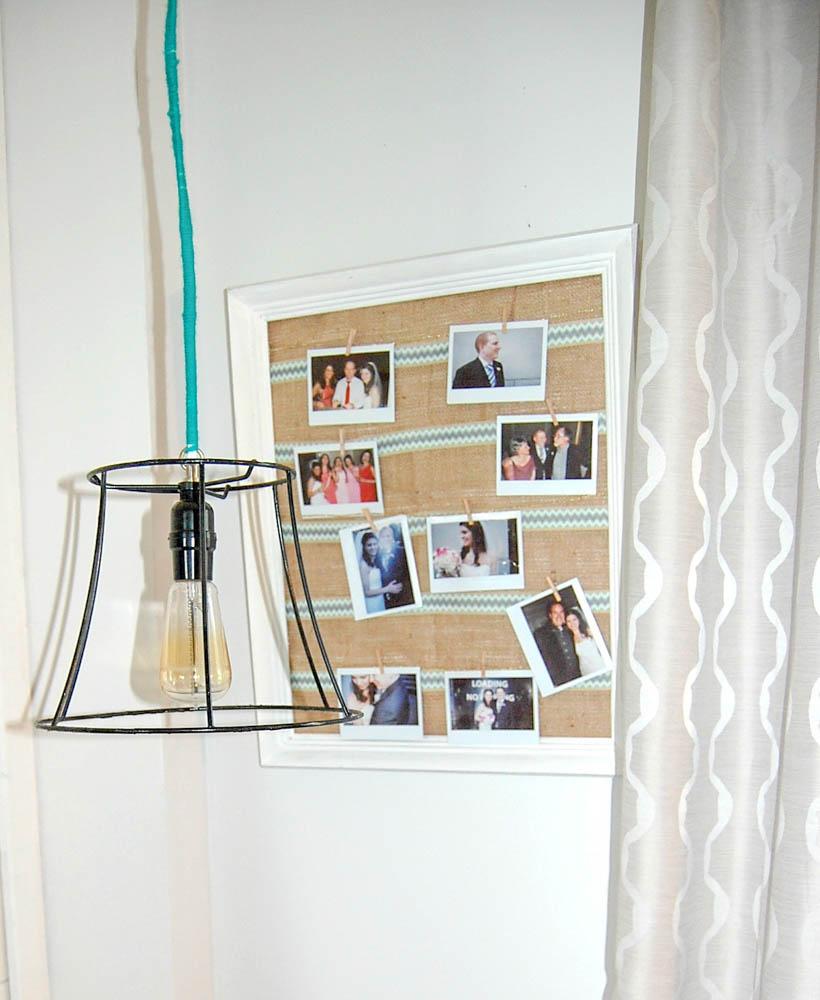cage light hanging