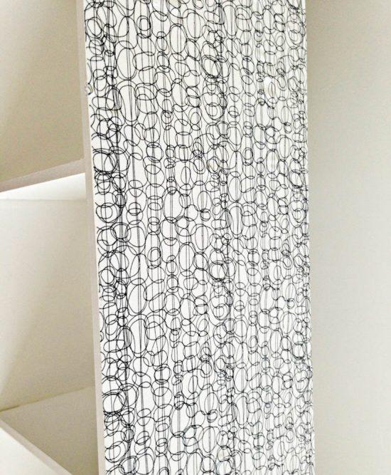 polycrylic on fabric