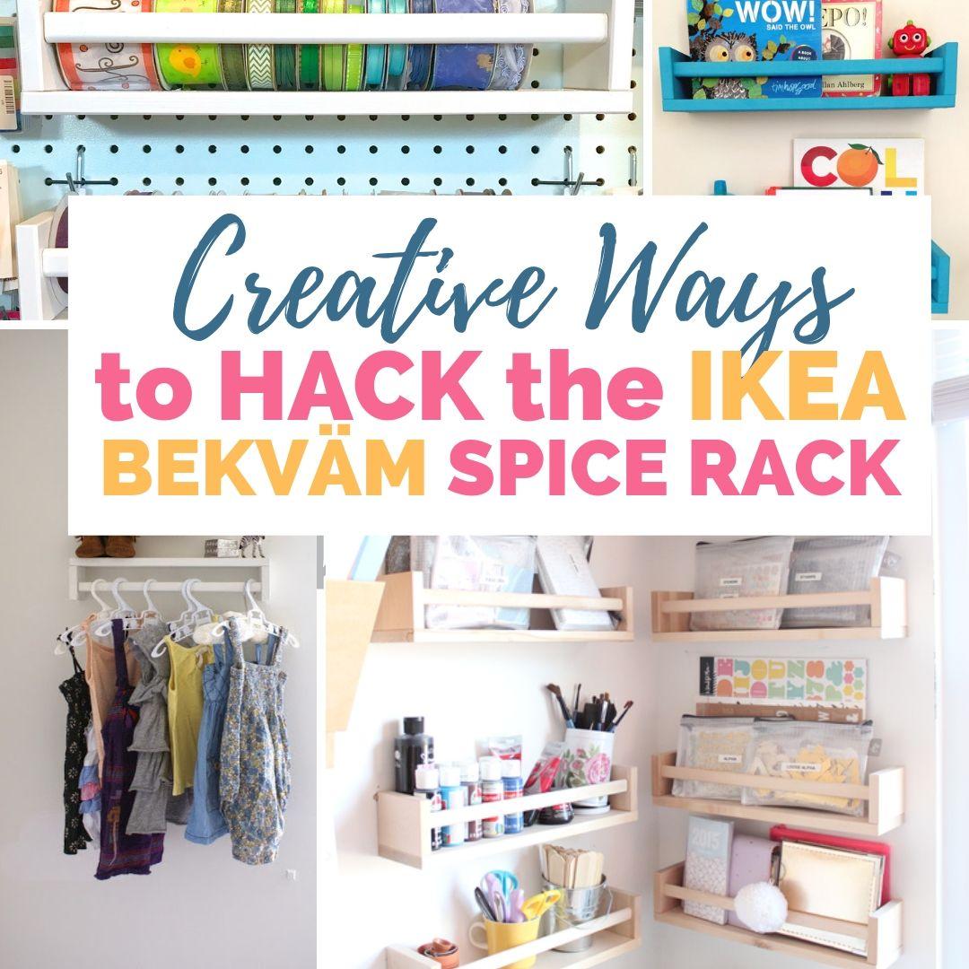 Creative Ways To Hack The Ikea Bekvam Spice Rack Diy Passion