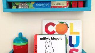 Ikea spice rack bookshelves for children's rooms