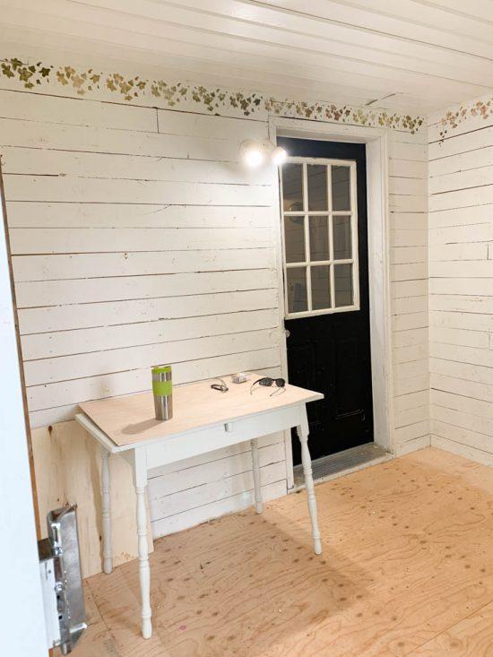 enclosing a porch for living space