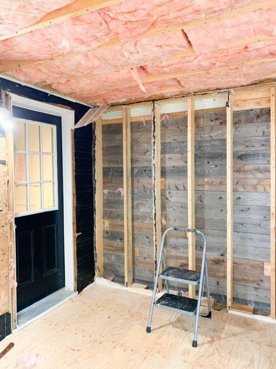 Convert porch to room, diy