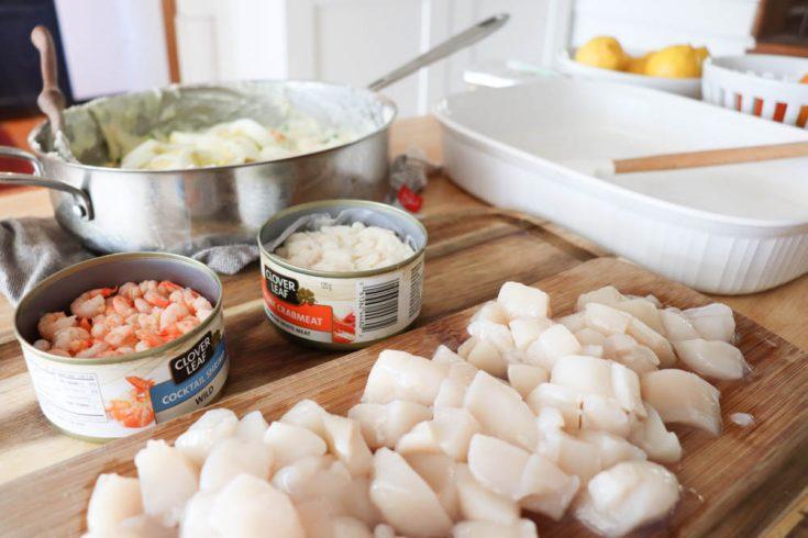 Homemade Seafood Casserole