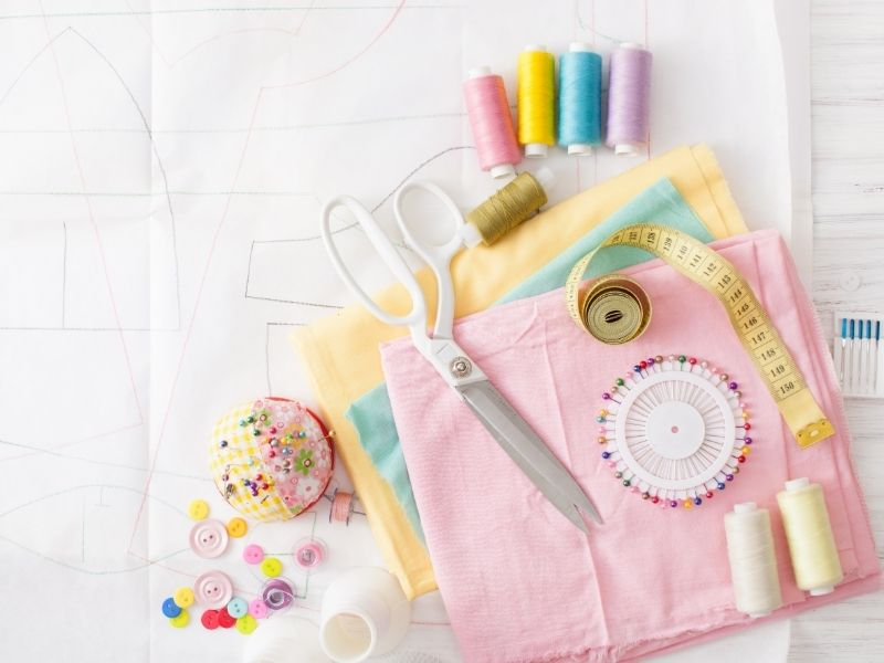 sewing diy material sew