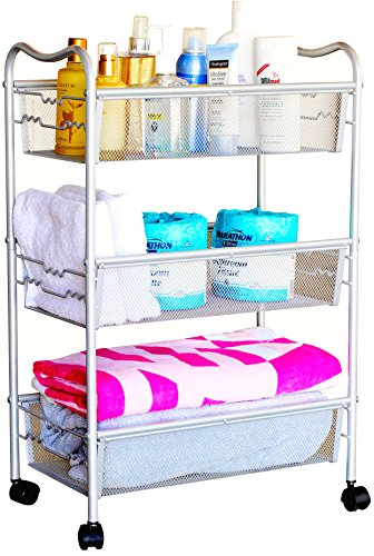 Changing Table Organizer Ideas cart
