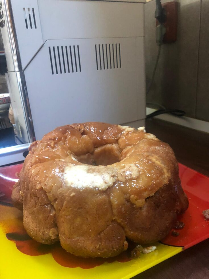 monkey bread with cream cheese recipe pic (2)