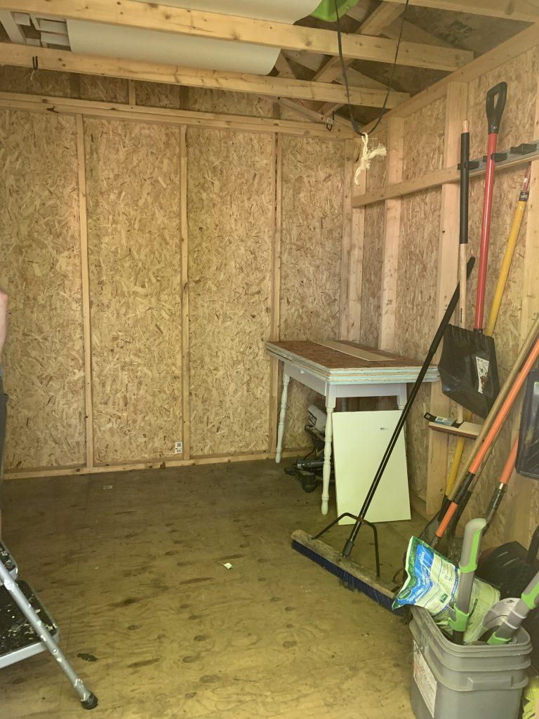 declutter the garage